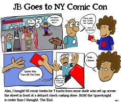 JB Goes to Comic Con by JBinks