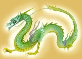 Eastern Dragon by Emushi