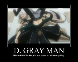 D. Gray Man by grachiel