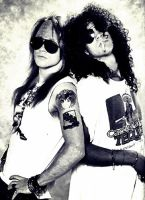 Slash and Axl by JoannaEchelonRO