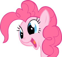 Pinkie Pie Portrait, Were you Surprised? by Stardust-R3x