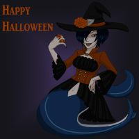Madame Shyarly Halloween 2014 by Kireikage
