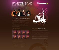 Pakistan Band by muddassir