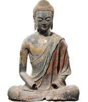 291 Buddha Statue Cutout 01 by Tigers-stock