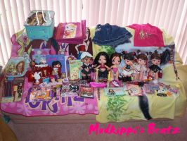 My Bratz Collection by mudkippi