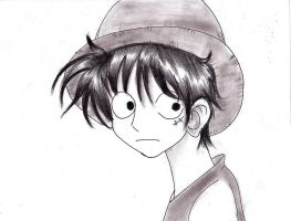 Monkey D. Luffy by EpicStormMage