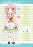 Mascot contest: Akemi by Sternenmelodie