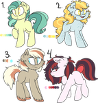 Freckly Earth Pony Auction by Ro-Z-Po-Z