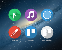 OS X app icons by sudapl