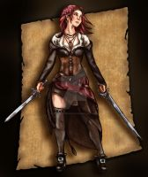Anne Bonny Color by artfullycreative