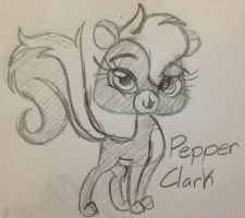 Pepper Clark sketch by Miss-Zi-Zi