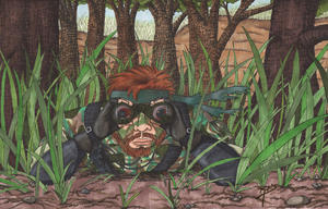 Snake in the Grass by SnowBunnyStudios
