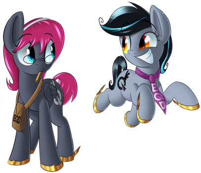 EQD Mascot Duo by January3rd