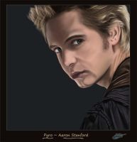 Pyro_Aaron Stanford by The-Bluetip