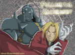 Elric brothers by Minos-23