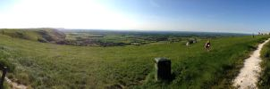 Devils Dyke - Panorama by Fragsey