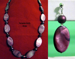 Purple Shell - Pearl Set by BloodRed-Orchid