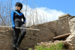 Nightwing: Blue bird, Blue sky by SkittsTheEchidna