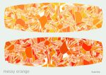 messy orange by ilustraio