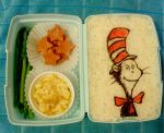 Cat in the Hat Bento by mindfire3927