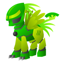 Pony Lewa by SpyrotheBadassDragon