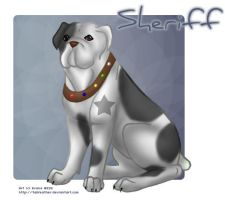 Commission: Sheriff Bulldog by tailfeather