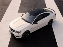 Mercedes-Benz C63 AMG by Genieneovo