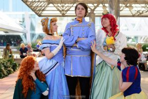 Disney: He's Charming by StarsOfCASSiOPEiA
