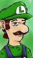 Luigi is always player 2 by ImmaculateReprobate