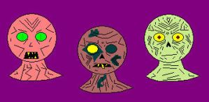 Zombie Designs by yeagerspace