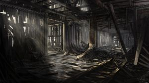 Derelict house by IIDanmrak