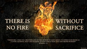 No Fire Without Sacrifice by MilaLouise