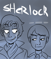 Sherlock by WolfyTails