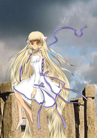 chii from tsubasa and chobits by flexi-joe