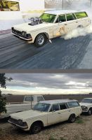 Mikes Project Car, The Dark Lady By Muethbooth by rubrduk