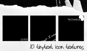 Tinytext icon textures by gfxgurl