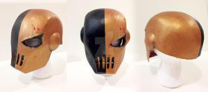 Slade mask (Teen Titans) by beelzebobbles