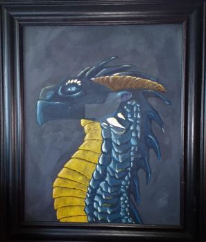 Dragon Painting by Nedwind