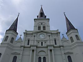 New Orleans Cathedral by SamuelMEdwards