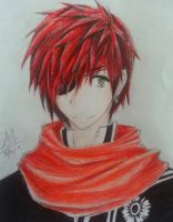 Lavi ~ D. Gray Man by SakuraNekonessess