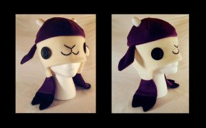 Dark Purple Goat by NinaKanti