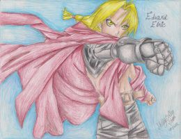Edward Elric 2012 by Seleske