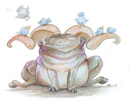Happy Troll by ursulav
