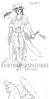 NA: Leonidas concept sketches by NightmareInspections