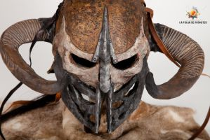 Aesir's helmet - Close up by LaForjadePrometeo