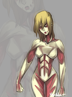 Female Titan by KiyaKoda