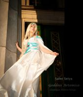 Saint Seiya: Goddess Artemisa by Neferet-Cosplay