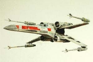X-wing by Jaredr122