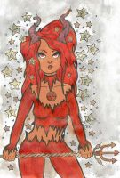 Devil Woman June 2012 by MicheleWitchipoo