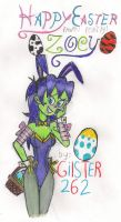 Happy Easter Zoey by gilster262
